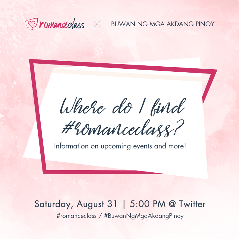 Where do I find RomanceClass? Info on upcoming events and more!