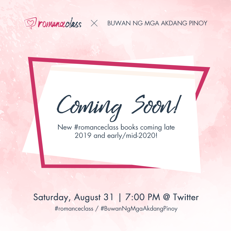Coming Soon! New #romanceclass books coming late 2019 and early/mid-2020